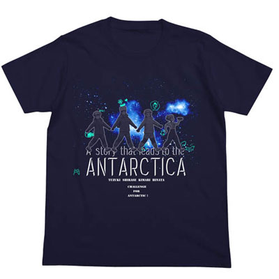 宇宙よりも遠い場所 Tシャツ/NAVY-M(再販)[コスパ]《06月予約》