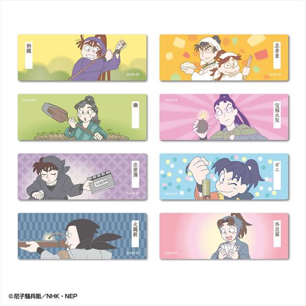 忍たま乱太郎 ロング缶バッジ モノ コレクション 8個入りBOX[アトリエ・マギ]《在庫切れ》