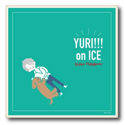 「ユーリ!!! on ICE」クッションカバー B[プレイフルマインドカンパニー]《在庫切れ》