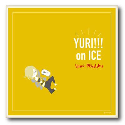「ユーリ!!! on ICE」クッションカバー C[プレイフルマインドカンパニー]《発売済・在庫品》