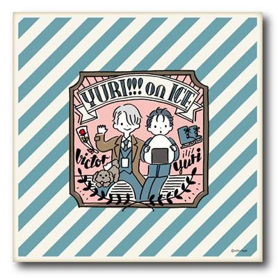「ユーリ!!! on ICE」クッションカバー D[プレイフルマインドカンパニー]《在庫切れ》