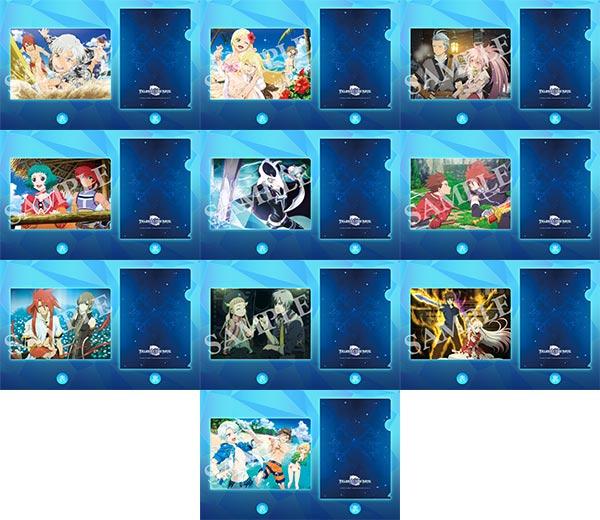 esシリーズ トレーディングミディアムファイル テイルズ オブ ザ レイズ 10個入りBOX[コトブキヤ]【送料無料】《発売済・在庫品》
