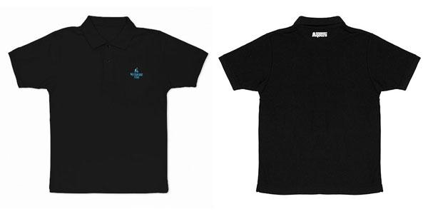 ラブライブ!サンシャイン!! 渡辺曜 刺繍ポロシャツ/BLACK-M(再販)[コスパ]《08月予約》