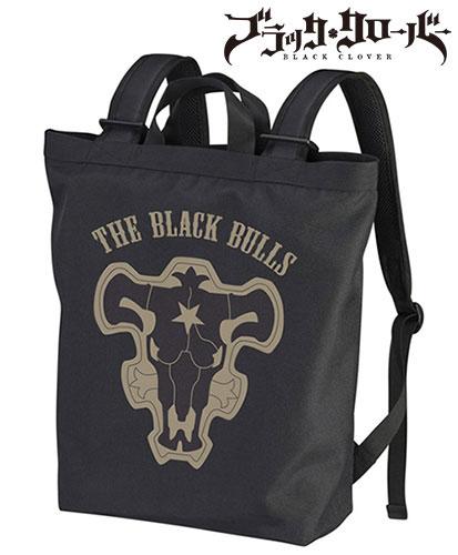 ブラッククローバー 黒の暴牛 2wayバックパック/BLACK(再販)[コスパ]《在庫切れ》
