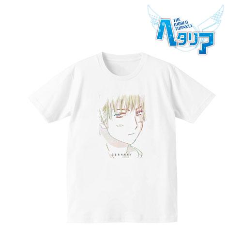 ヘタリア The World Twinkle Ani-Art Tシャツ(ドイツ)/レディース(サイズ/L)(再販)[アルマビアンカ]《11月予約》
