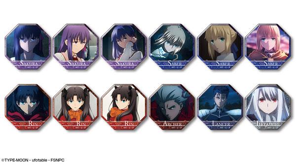 劇場版「Fate/stay night [Heaven's Feel]」 ぷくっとバッジコレクション 12個入りBOX[ライセンスエージェント]《発売済・在庫品》