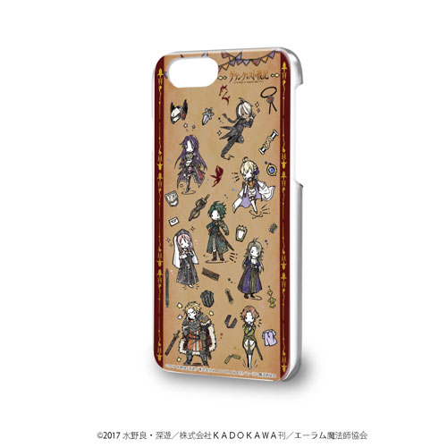 ハードケース(iPhone6/6s/7/8兼用)「グランクレスト戦記」01/全員集合