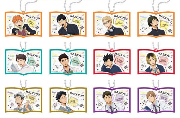 ハイキュー!! ラバーストラップコレクション 12個入りBOX[POMMOP]【送料無料】《発売済・在庫品》