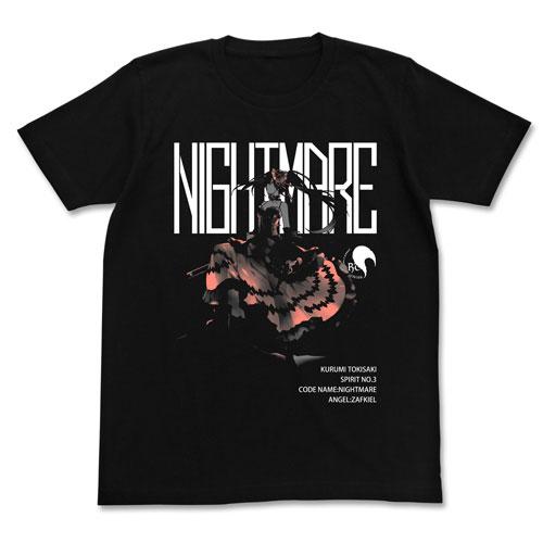 デート・ア・ライブ 原作版 時崎狂三 Tシャツ/BLACK-XL(再販)[コスパ]《在庫切れ》