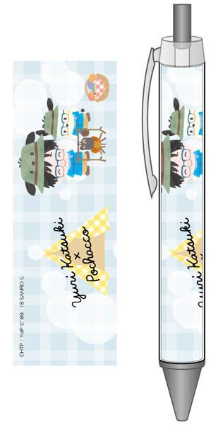 ユーリ!!! on ICE×サンリオキャラクターズ ボールペン キャンプver. A[コンテンツシード]《在庫切れ》
