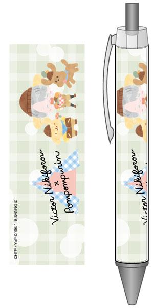 ユーリ!!! on ICE×サンリオキャラクターズ ボールペン キャンプver. B[コンテンツシード]《在庫切れ》