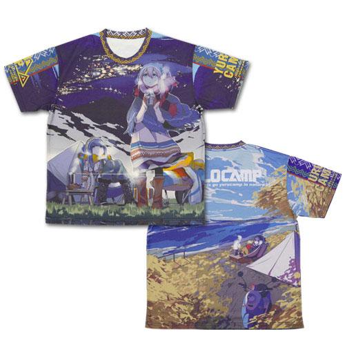 ゆるキャン△ 両面フルグラフィックTシャツ-L(再販)[コスパ]《02月予約》