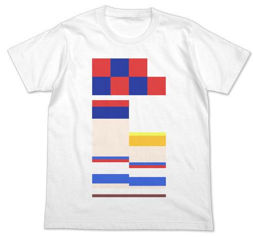 ポプテピピック フルカラーTシャツ/WHITE-S(再販)[コスパ]《02月予約》