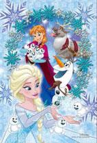 プリズムアート ジグソーパズルプチ Disney ドリーム・ウィンドウシリーズ ‐アナ&エルサ‐ 70ピース (97-180)[やのまん]《発売済・在庫品》