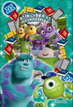 プリズムアート ジグソーパズルプチ Disney ドリーム・ウィンドウシリーズ ‐モンスターズ‐ 70ピース (97-181)[やのまん]《取り寄せ※暫定》