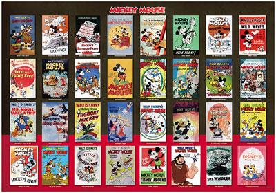 ジグソーパズル ディズニー Movie Poster Collection Mickey Mouse 1000ピース (D-1000-496)[テンヨー]《取り寄せ※暫定》