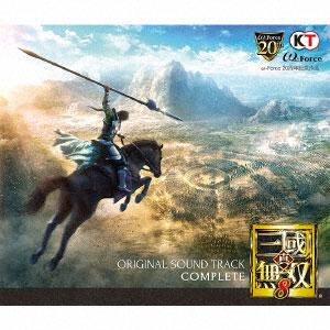 CD 真・三國無双8 オリジナル・サウンドトラック コンプリート[ユニバーサルミュージック]《在庫切れ》