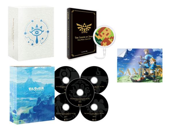 【特典】CD ゼルダの伝説 ブレス オブ ザ ワイルド オリジナルサウンドトラック 初回数量限定生産盤[日本コロムビア]《在庫切れ》