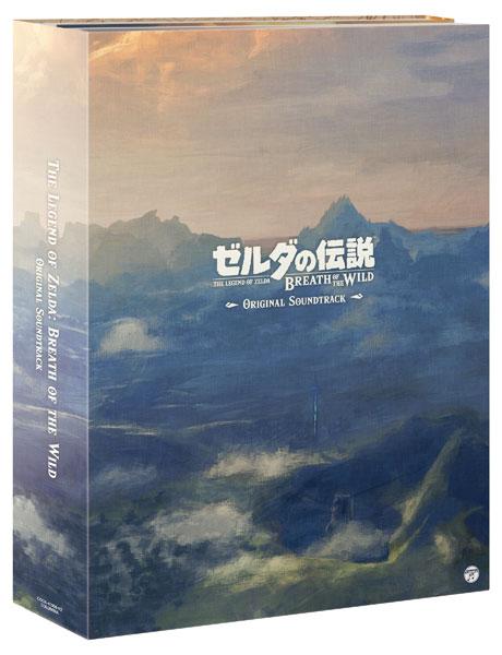 【特典】CD ゼルダの伝説 ブレス オブ ザ ワイルド オリジナルサウンドトラック 通常盤[日本コロムビア]《在庫切れ》