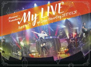 BD 沼倉愛美 / 1st LIVE「My LIVE」 at Zepp DiverCity 2017.08.20 (Blu-ray Disc)[ビクターエンタテインメント]《取り寄せ※暫定》
