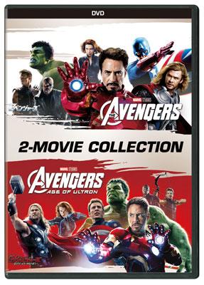 DVD アベンジャーズ & アベンジャーズ/エイジ・オブ・ウルトロン DVDセット[ウォルト・ディズニー・スタジオ・ジャパン]《取り寄せ※暫定》