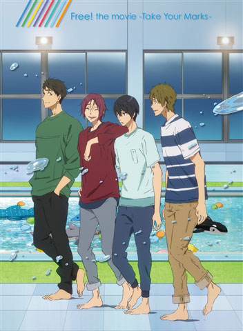 DVD 特別版 Free!-Take Your Marks-[京都アニメーション]《取り寄せ※暫定》