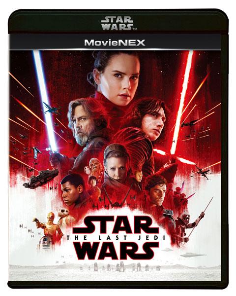 BD+DVD スター・ウォーズ/最後のジェダイ MovieNEX 初回版 (Blu-ray Disc)[ウォルト・ディズニー・スタジオ・ジャパン]《取り寄せ※暫定》