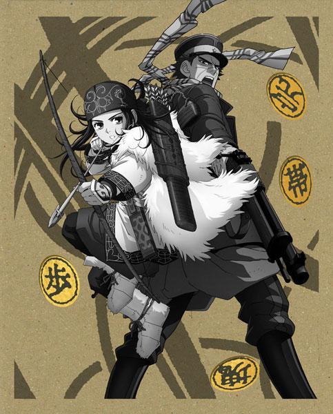 [特典]BD ゴールデンカムイ 第一巻 初回限定版