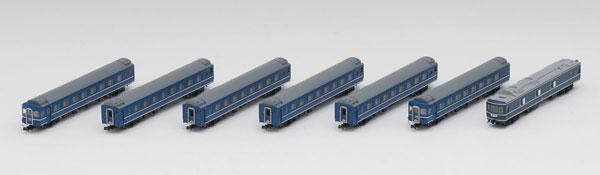 98638 国鉄 24系25形0番代特急寝台客車(カニ25)セット (7両)[TOMIX]【送料無料】《在庫切れ》