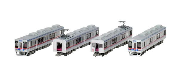 鉄道コレクション 京成電鉄3500形更新車(3544編成)4両セットB[トミーテック]《発売済・在庫品》