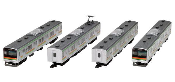 鉄道コレクション JR205系3000番代 川越線・八高線4両セット[トミーテック]《在庫切れ》