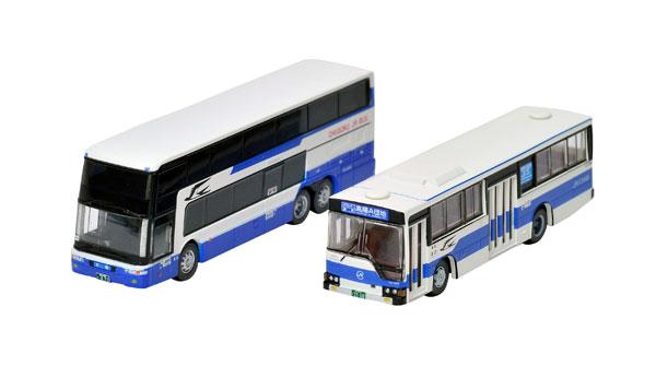 ザ・バスコレクション 中国ジェイアールバス発足30周年記念2台セット[トミーテック]《発売済・在庫品》