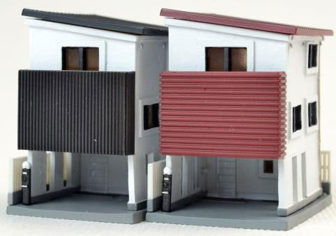 建物コレクション 017-4 狭小住宅B4[トミーテック]《取り寄せ※暫定》