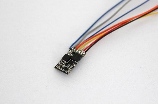 A053 DCCデコーダー 小型汎用タイプ[ロクハン]《在庫切れ》