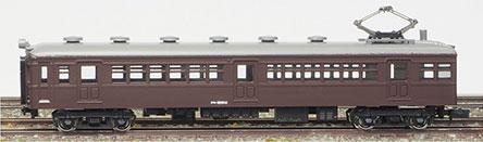 13005 着色済みエコノミーキット(旧型国電シリーズ) クモハ51形制御電動車(半流)(茶色)(再販)[グリーンマックス]《09月予約》