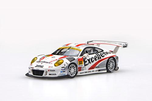 1/43 Excellence Porsche GT300 No.33 レジン製 WHITE[EBBRO]《在庫切れ》