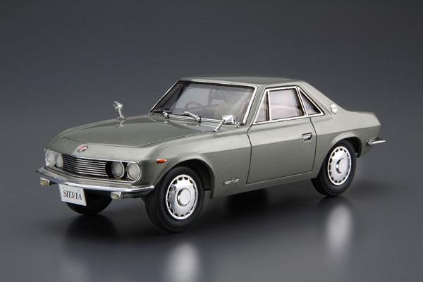ザ・モデルカー No.66 1/24 ニッサン CSP311 シルビア '66 プラモデル[アオシマ]《発売済・在庫品》