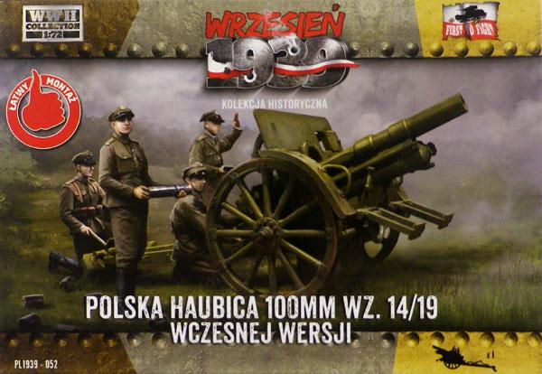 1/72 ポ・100mm wz.14/19初期型榴弾砲 プラモデル[FTF]《在庫切れ》