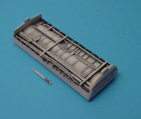 1/48 F-8 クルセーダー エンジンダクトベイ (H社用)(再販)[アイリス]《取り寄せ※暫定》