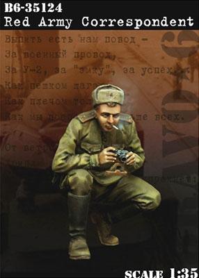 1/35 WWII露 従軍カメラマン[BRAVO 6]《在庫切れ》