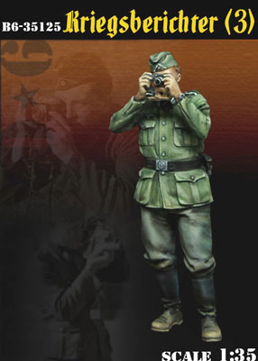 1/35 WWII独 従軍カメラマン(3)[BRAVO 6]《在庫切れ》