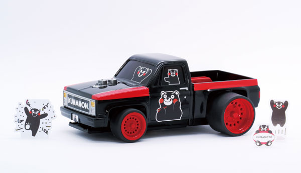 くまモンのシリーズ No.5 ピックアップトラック くまモンバージョン プラモデル[フジミ模型]《在庫切れ》