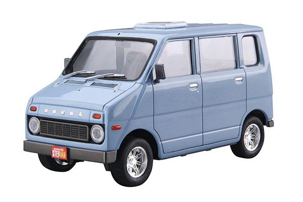 ザ・モデルカー No.74 1/20 ホンダ VA ライフ ステップバン '74 プラモデル[アオシマ]《発売済・在庫品》