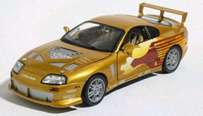 1/24 FIRST&FURIOUS (ワイルド・スピードX2) 1995 Toyota Supra Slap Jack - gold[Jada Toys]《在庫切れ》