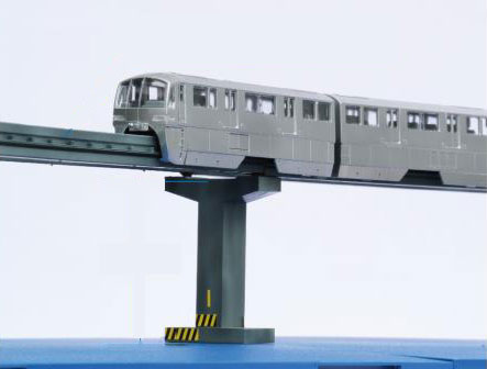 東京モノレール10000形6両編成 ディスプレイモデル(彩色済み) プラモデル[フジミ模型]《発売済・在庫品》