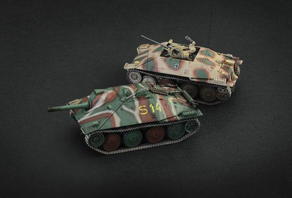 1/56 WW.II ドイツ軍 駆逐戦車 38(t)ヘッツァー プラモデル[イタレリ]《在庫切れ》