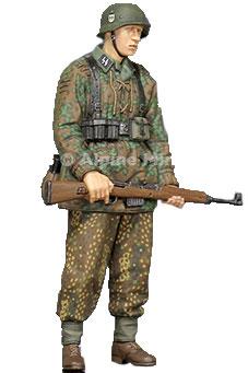 1/35 WWII独 SS擲弾兵 G43ライフル[アルパイン]《在庫切れ》
