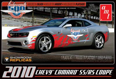 1/25 2010 シボレー・カマロ SS/RS '09 インディ500ペースカー プラモデル[AMT]《在庫切れ》