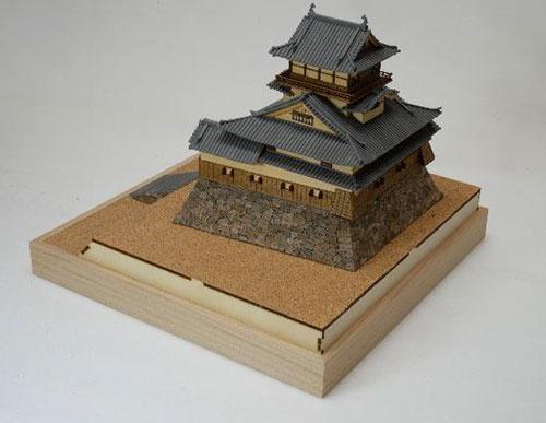 木製模型 1/150 犬山城[ウッディジョー]《在庫切れ》
