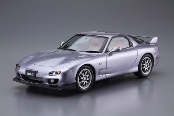 ザ・モデルカー No.77 1/24 マツダ FD3S RX-7 スピリットR タイプB '02 プラモデル[アオシマ]《発売済・在庫品》